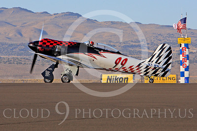 Race Airplane Riff Raff 00025 Hawker Sea Fury race airplane Riff Raff NX62143 at Reno air races by Peter J Mancus