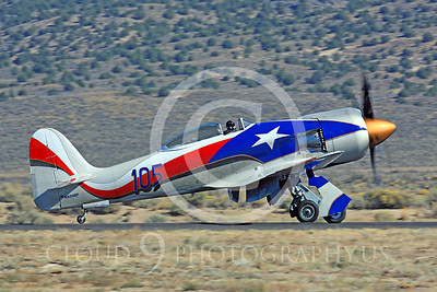 Race Airplane Hawker Sea Fury NX24SF 00005 Hawker Sea Fury NX24SF air racing plane at Reno Air Races by Peter J Mancus