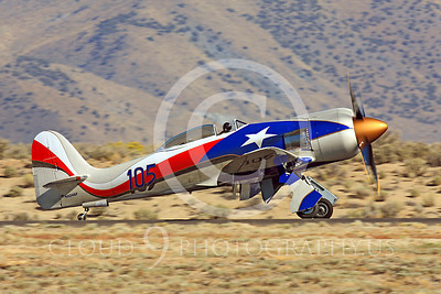 Race Airplane Hawker Sea Fury NX24SF 00001 Hawker Sea Fury NX24SF air racing plane at Reno Air Races by Peter J Mancus