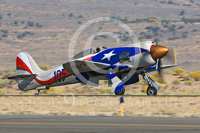 Race Airplane Hawker Sea Fury NX24SF 00003 Hawker Sea Fury NX24SF air racing plane at Reno Air Races by Peter J Mancus