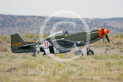 Race Airplane North American P-51 Mustang Speedball Alice 00019 Air racing plane North American P-51 Mustang Speedball Alice at Reno air races by Peter J Mancus