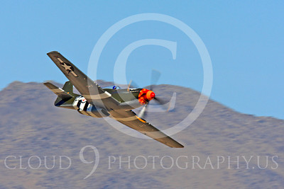Race Airplane Speedball Alice 00008 North American P-51 Mustang race airplane Speedball Alice at Reno air races by Peter J Mancus
