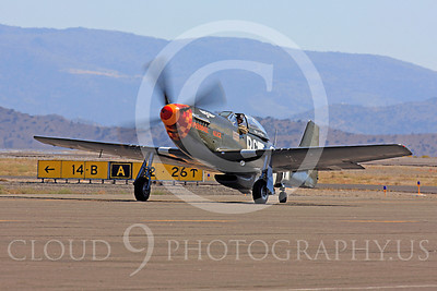 Race Airplane Speedball Alice 00017 North American P-51 Mustang race airplane Speedball Alice at Reno air races by Peter J Mancus