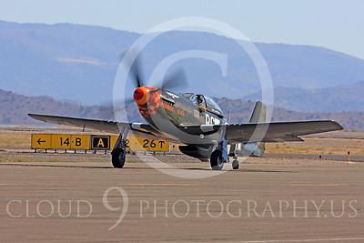 Race Airplane Speedball Alice 00017 North American P-51 Mustang race airplane Speedball Alice at Reno air races by Peter J Mancus