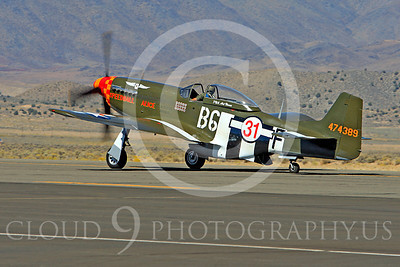 Race Airplane Speedball Alice 00005 North American P-51 Mustang race airplane Speedball Alice at Reno air races by Peter J Mancus
