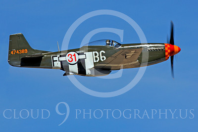 Race Airplane Speedball Alice 00034 North American P-51 Mustang race airplane Speedball Alice at Reno air races by Peter J Mancus