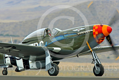 Race Airplane Speedball Alice 00007 North American P-51 Mustang race airplane Speedball Alice at Reno air races by Peter J Mancus
