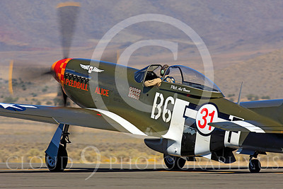 Race Airplane Speedball Alice 00011 North American P-51 Mustang race airplane Speedball Alice at Reno air races by Peter J Mancus