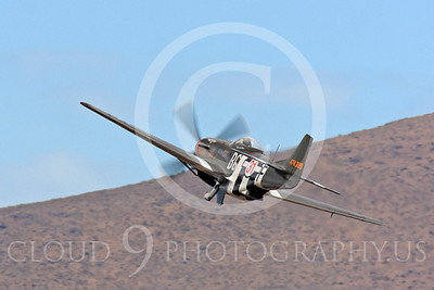 Race Airplane Speedball Alice 00028 North American P-51 Mustang race airplane Speedball Alice at Reno air races by Peter J Mancus