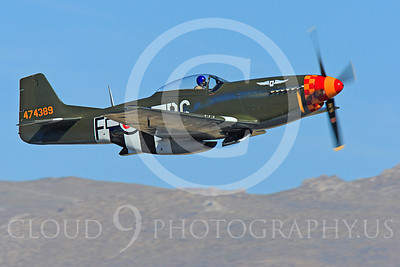 Race Airplane Speedball Alice 00004 North American P-51 Mustang race airplane Speedball Alice at Reno air races by Peter J Mancus