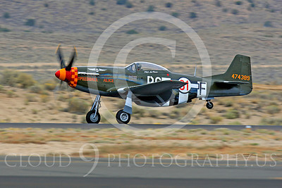 Race Airplane Speedball Alice 00009 North American P-51 Mustang race airplane Speedball Alice at Reno air races by Peter J Mancus