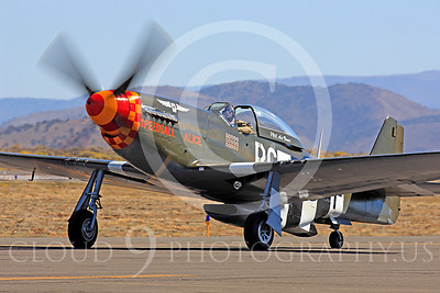 Race Airplane Speedball Alice 00015 North American P-51 Mustang race airplane Speedball Alice at Reno air races by Peter J Mancus