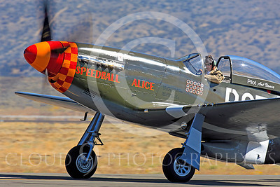Race Airplane Speedball Alice 00001 North American P-51 Mustang race airplane Speedball Alice at Reno air races by Peter J Mancus