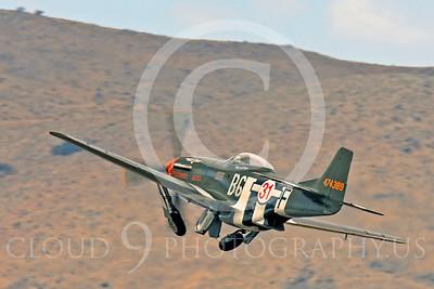Race Airplane Speedball Alice 00062 North American P-51 Mustang race airplane Speedball Alice at Reno air races by Peter J Mancus