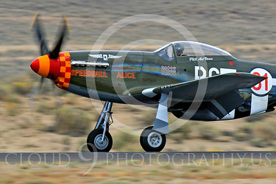 Race Airplane Speedball Alice 00049 North American P-51 Mustang race airplane Speedball Alice at Reno air races by Peter J Mancus