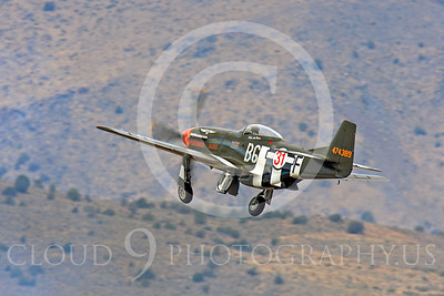 Race Airplane Speedball Alice 00050 North American P-51 Mustang race airplane Speedball Alice at Reno air races by Peter J Mancus