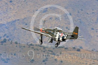 Race Airplane Speedball Alice 00050 North American P-51 Mustang race airplane Speedball Alice at Reno air races by Peter J Mancus