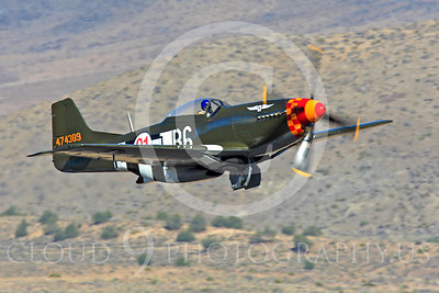 Race Airplane Speedball Alice 00010 North American P-51 Mustang race airplane Speedball Alice at Reno air races by Peter J Mancus