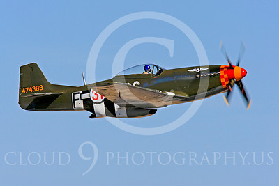 Race Airplane Speedball Alice 00032 North American P-51 Mustang race airplane Speedball Alice at Reno air races by Peter J Mancus