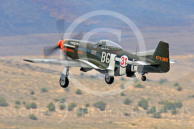 Race Airplane Speedball Alice 00002 North American P-51 Mustang race airplane Speedball Alice at Reno air races by Peter J Mancus