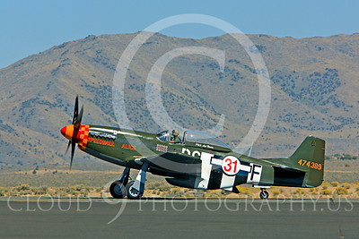 Race Airplane Speedball Alice 00013 North American P-51 Mustang race airplane Speedball Alice at Reno air races by Peter J Mancus