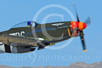 Race Airplane Speedball Alice 00030 North American P-51 Mustang race airplane Speedball Alice at Reno air races by Peter J Mancus