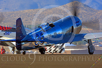 Race Airplane Czech Mate 00007 Yakovlev YAK-11 Czech Mate N5943 at Reno air races by Peter J Mancus