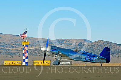 Race Airplane Czech Mate 00003 Yakovlev YAK-11 Czech Mate N5943 at Reno air races by Peter J Mancus