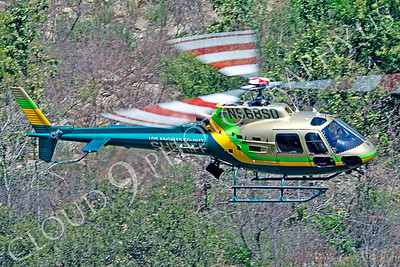 HCLE 00010 Eurocopter AS 350 B2 Los Angeles Sheriff Department N968SD by Tim P Wagenknecht
