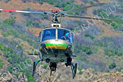 HCLE 00008 Eurocopter AS 350 B2 Los Angeles Sheriff Department N968SD by Tim P Wagenknecht