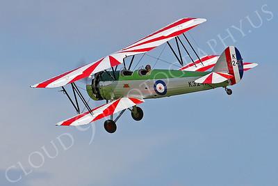 WB - Avro Tutor 00004 Avro Tutor British RAF by Tony Fairey