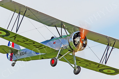 WB - Avro Tutor 00014 Avro Tutor British RAF by Tony Fairey