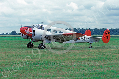 WB - 00001 Beech SNJ Expeditor US Navy by Peter J Mancus