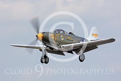 WB-P-39 00002 Bell P-30 Airacobra by Peter J Mancus