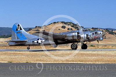 WB - B-17 00001 Boeing B-17G Flying Fortress Sentimental Journey by Peter J Mancus