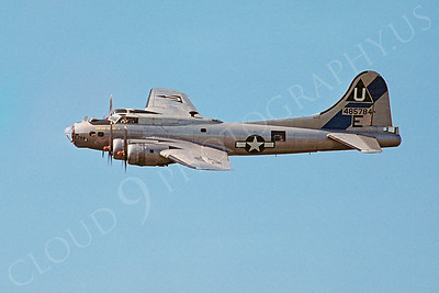 WB - 00032 Boeing B-17G Flying Fortress 27 May 1978 by Stephen W D Wolf