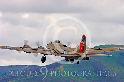 WB - B-17 00010 Boeing B-17G Flying Fortress by Peter J Mancus
