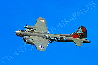 WB - 00082 Boeing B-17 Flying Fortress by Stephen W D Wolf