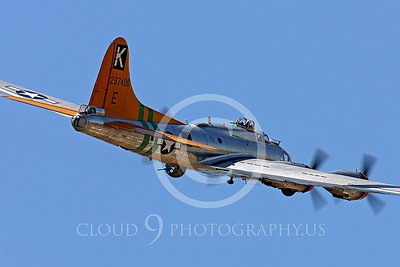 WB-B-17 00030 Boeing B-17 Flying Fortress by Peter J Mancus