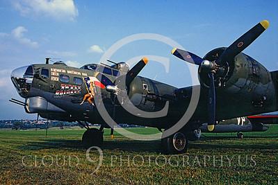 WB - B-17 00005 Boeing B-17G Flying Fortress Texas Raiders by Peter J Mancus