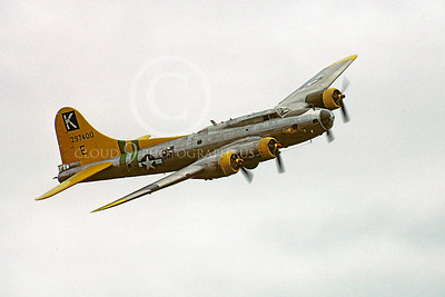 WB - B-17 00028 Boeing B-17 Flying Fortress Fuddy Duddy by Peter J Mancus