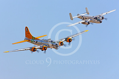 WB-B-17 00034 Boeing B-17 Flying Fortress by Peter J Mancus