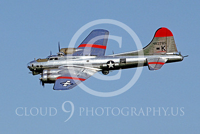WB - B-17 00036 Boeing B-17G Flying Fortress by Peter J Mancus