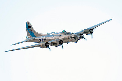 WB - B-17 00042 Boeing B-17G Flying Fortress Sentimental Journey in flight, by Peter J Mancus
