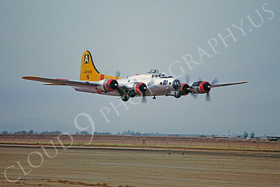 WB - 00002 Boeing B-17G Flying  Fortress 29 September 1983 by W T Larkins
