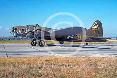 WB - B-17 00033 Boeing B-17G Flying Fortress Shoo Shoo Shoo Baby by David W Menard