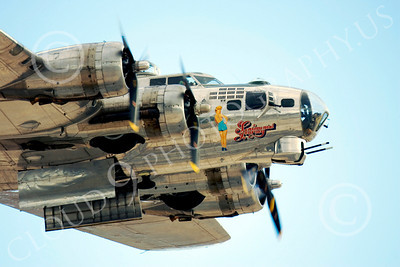 WB - B-17 00006 Boeing B-17G Flying Fortress Sentimental Journey in flight, by Peter J Mancus