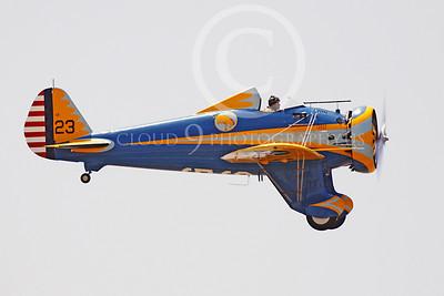 WB - Boeing P-26 Peashooter 00020 Boeing P-26 Peashooter by Peter J Mancus