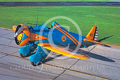 WB - Boeing P-26 Peashooter 00003 Boeing P-26 Peashooter by David W Menard