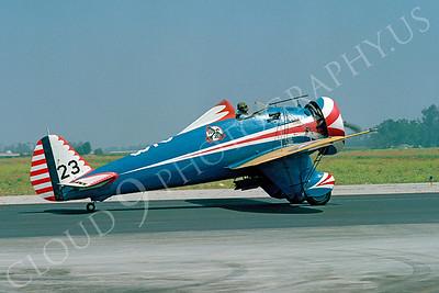 WB - 00001 Boeing P-26 Peashooter by Peter J Mancus